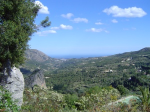 View of Guadalest valley